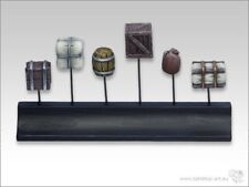 Cajas y barriles de 1 (12) Art tabletop base gestalltung terreno barril caja 28mm