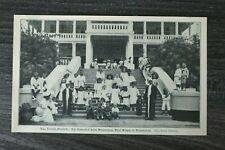 AD) Blatt Deutsche Kolonie 1907 Deutsch Ostafrika Graf Götzen Daressalam Kinder