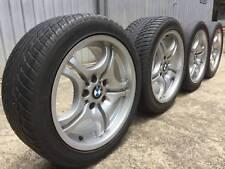 BMW original staggered 17 inch M Sport wheels