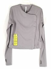 UNDER ARMOUR Women's Size L Street Sleek Fitted Jacket GRAY Zipper  NWT $130.00