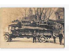 ST1980: FULLY LOADED MOVING TRUCK BRIDGETON NJ (Great C1920'S RPPC/postcard)
