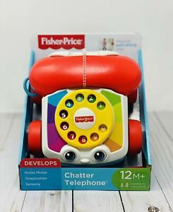 """Fisher-Price Chatter Telephone Babies First """"mobile"""" Phone! Ring Ring!"""
