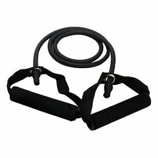 Black-35lbsResistance Exercise Workout Tube Heavy Fitness Band Physio Crossfit