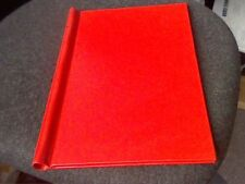 A4 SPRINGBACK BINDER-BANTEX REF-0502-- RED COVER