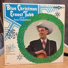 Blue Christmas Ernest Tubb and the Texas Troubadours LP Decca VG+ Hit: CHRISTMAS