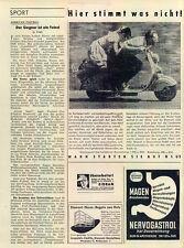 NSU-LAMBRETTA - 1954-Publicité-Publicité-Genuine ADVERT-la publicité-NL-correspondance