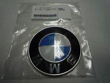 BMW Genuine 82mm Front Bonnet Hood & Boot Trunk Emblem Badge 51767288752 LLOYD
