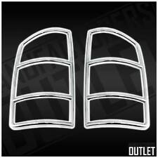 ABS Chrome Full Light Bezel Tail Light Cover Trim Dodge Ram 1500 2002-2008
