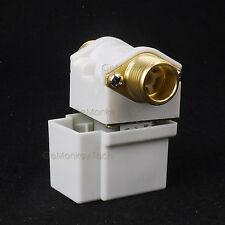"1/2"" BSP Cuprum Electric Solenoid Check Valve 12VDC NO Normal Open Filtrate"