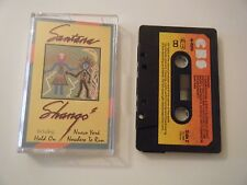 SANTANA SHANGO CASSETTE TAPE 1982 PAPER LABEL CBS UK