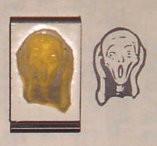 The Scream by Edvard Munch rubber stamp