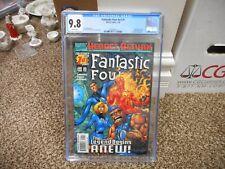 Fantastic Four 1 cgc 9.8 Marvel 1998 V3 legacy number 430 Thing New Legend Begin