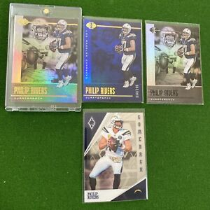Lot Of 4 Phillip Rivers Sp #'d /299 🔥 Los Angeles  Chargers Colts 🔥 Invest
