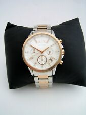 ARMANI EXCHANGE WOMENS CHRONOGRAPH WATCH AX4331 ROSE GOLD CRYSTALS GENUINE