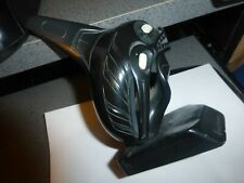 "Argillite Haida  ""Killer Whale"" 3-D Sculpture -Excellent! Must See! -=  +-"
