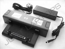 New HP Compaq nc6320 nc8430 nx6120 Basic Docking Station + AC Adapter 413627-001