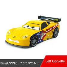 Disney Pixar Car 2 Jeff Gorvette USA Diecast Toy Model Car 1:55 Loose Kids Gift