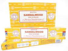 Sandalwood Insence Satya Genuine Incense Sticks Agarbati Fragrance