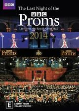The Last Night Of The Proms 2014 (DVD, 2016)  New, ExRetail Stock, Genuine D62