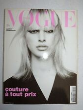 Magazine VOGUE PARIS mode French #815 mars 2001 special collections