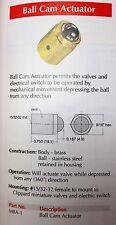 Clippard Mba-1 NSFP MBA1 Ball Actuator