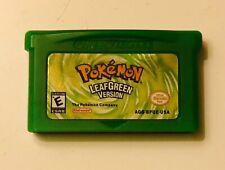 Game Boy Advance (GBA) Game - Pokemon Leaf Green - US Version