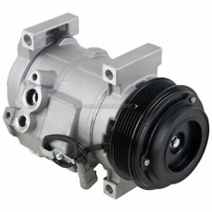 For Cadillac DTS 2006-2011 AC Compressor & A/C Clutch w/ Hot Weather Package DAC