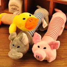 Perro Juguetes Masticables Squeaky Sonido de Felpa Cerdo Elefante