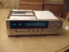 VINTAGE 1975 Sansui 881 Stereo Receiver + Manuals Tested AM/FM Phono Aux CLEAN