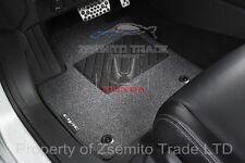 Honda Civic MK9 FG FB OEM FLOOR MAT CARPET SET STANDARD BLACK LHD 08P14 TV0 610