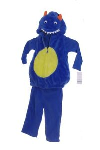 Carters Boys Blue Scary Monster Warm Halloween Purim Costume 12 18 24 Months NEW