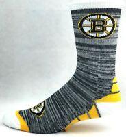Boston Bruins Hockey Deuce RMC Black Crew Socks