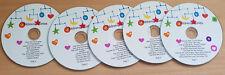 45 Children's Audio Stories on CD Classic Children Kids Fairy Stories Disk 1-5