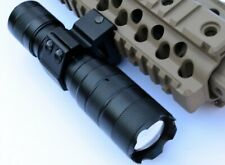 CREE T6 LED Flashlight For Rifles Shotguns with Picatinny mount, Battery,Charger