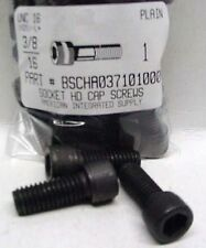 3/8-16x1 Hex Socket Head Cap Screws Alloy Steel Black (10)