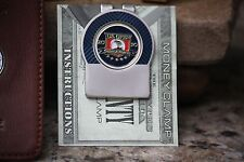 US Open Personalized Member Money Clip Green Trim  Fr Engraving & Shipping