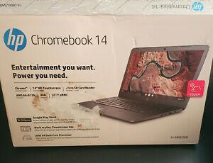 "HP Chromebook 14"" Touchscreen AMD Processor 4GB RAM, 32GB Memory DB0025NR"