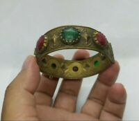 Very Rare Ancient Viking Bronze Bracelet Extremely Artifact Authentic Stunning