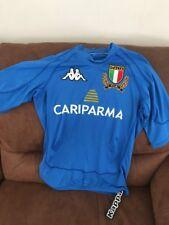 Kappa Italia FIR Clone Rugby Azzurro Blue Jersey NWT Size M Mens