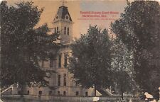 D53/ McMinnville Oregon Or Postcard 1911 Yamhill County Court House