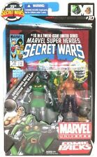 Marvel Universe Comic Pack Secret Wars #10 Absorbing Man & Dr Doom with Wasp!