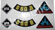 Aufkleber Simson S50B elektronic