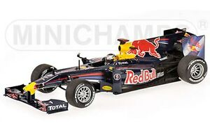 MINICHAMPS 400 100075 Red Bull Racing F1 model Showcar Ltd Edition 2010 1:43rd