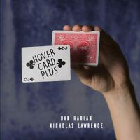 Hover Card Plus By Dan Harlan and Nicholas Lawrence Magic Trick Gimmick Illusion