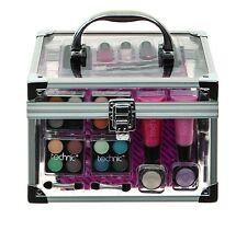 2 PZ Beauty Case Cosmetici Bellezza Set Regalo Viaggi Trucco Archiviazione Carry Scatola Natale