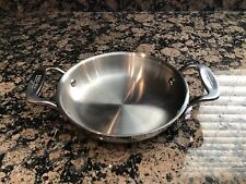 All-Clad 6 inch Stainless Steel Round Gratin Dish Baker Specialty Cookware