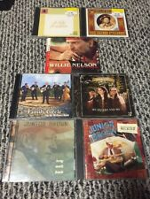 Lot COUNTRY MUSIC CD's - Willie Nelson, Jr Brown Family Circle Gold Heart Blues