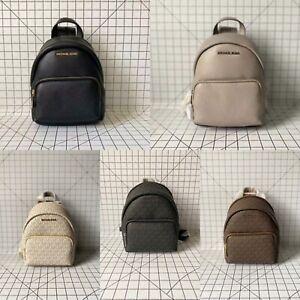 Michael Kors Erin Small Convertible Backpack Signature MK Logo Crossbody Bag