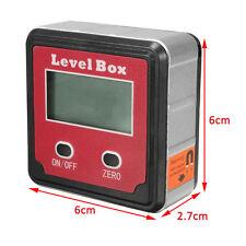 Digital Bevel Angle Finder Gauge Meter Protractor Inclinometer Spirit Level Box