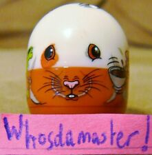 Mighty Beanz 2010 Series 1 Ultra Rare #100 HAMSTER Bean Mint OOP Free US